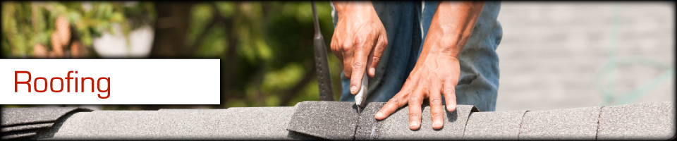 Roofing - Cutting shingle